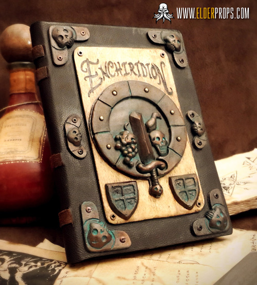 Crafting Adventure Time's Enchiridion as an Ode to Medieval Book Making