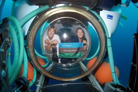 Deep-sea submersible pilot Erika Bergman. Photo courtesy of GEECs.com