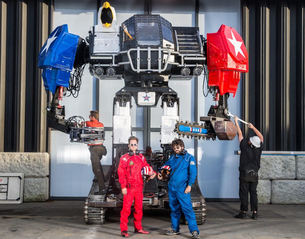 MegaBet: Inside MegaBot's Journey to Launch a Giant Combat Robot