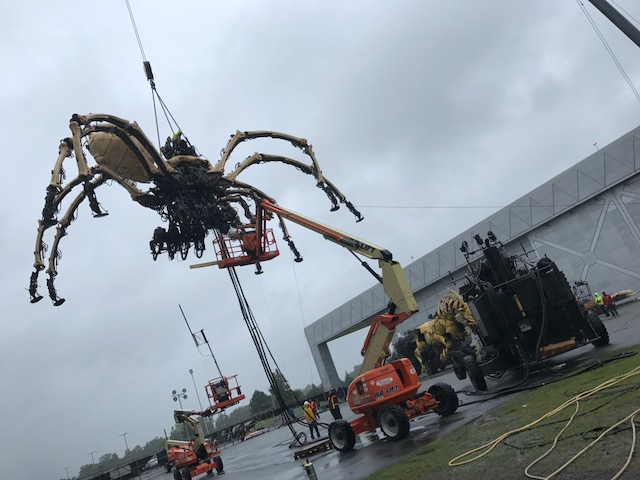 La Machine Preps Their Giant, Fantastical Creatures for Ottawa's Birthday Celebration