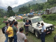 The Field Ready team 3D prints in Nepal. Photo courtesy of Field Ready