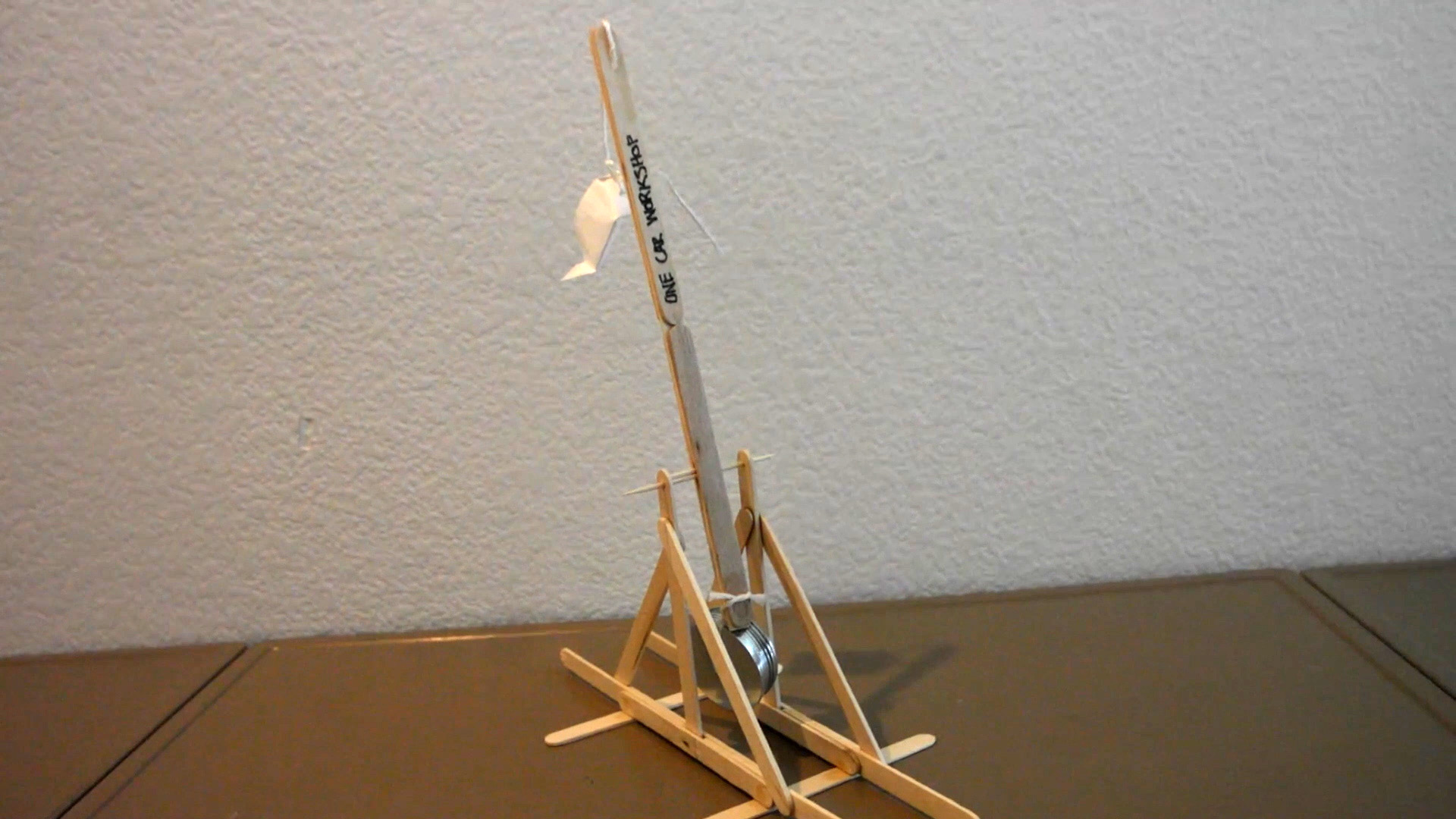 Weekend Watch: Build a Simple Trebuchet from Household Items