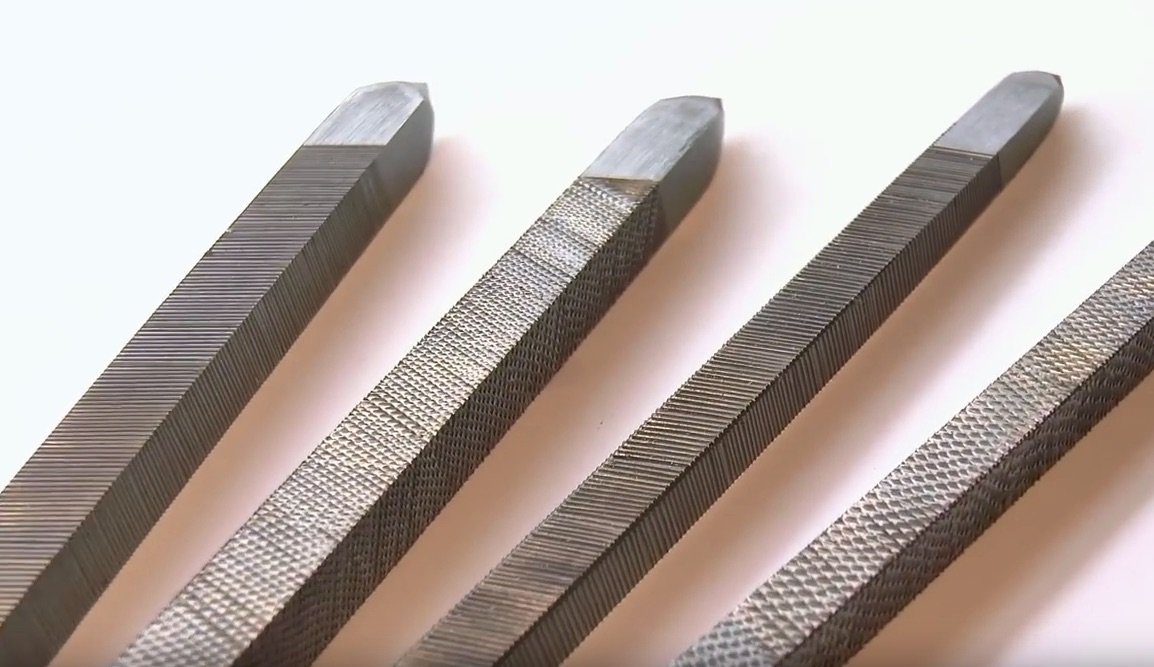 Hand-Cutting and Fire-Hardening Steel Files Using Ancient Techniques
