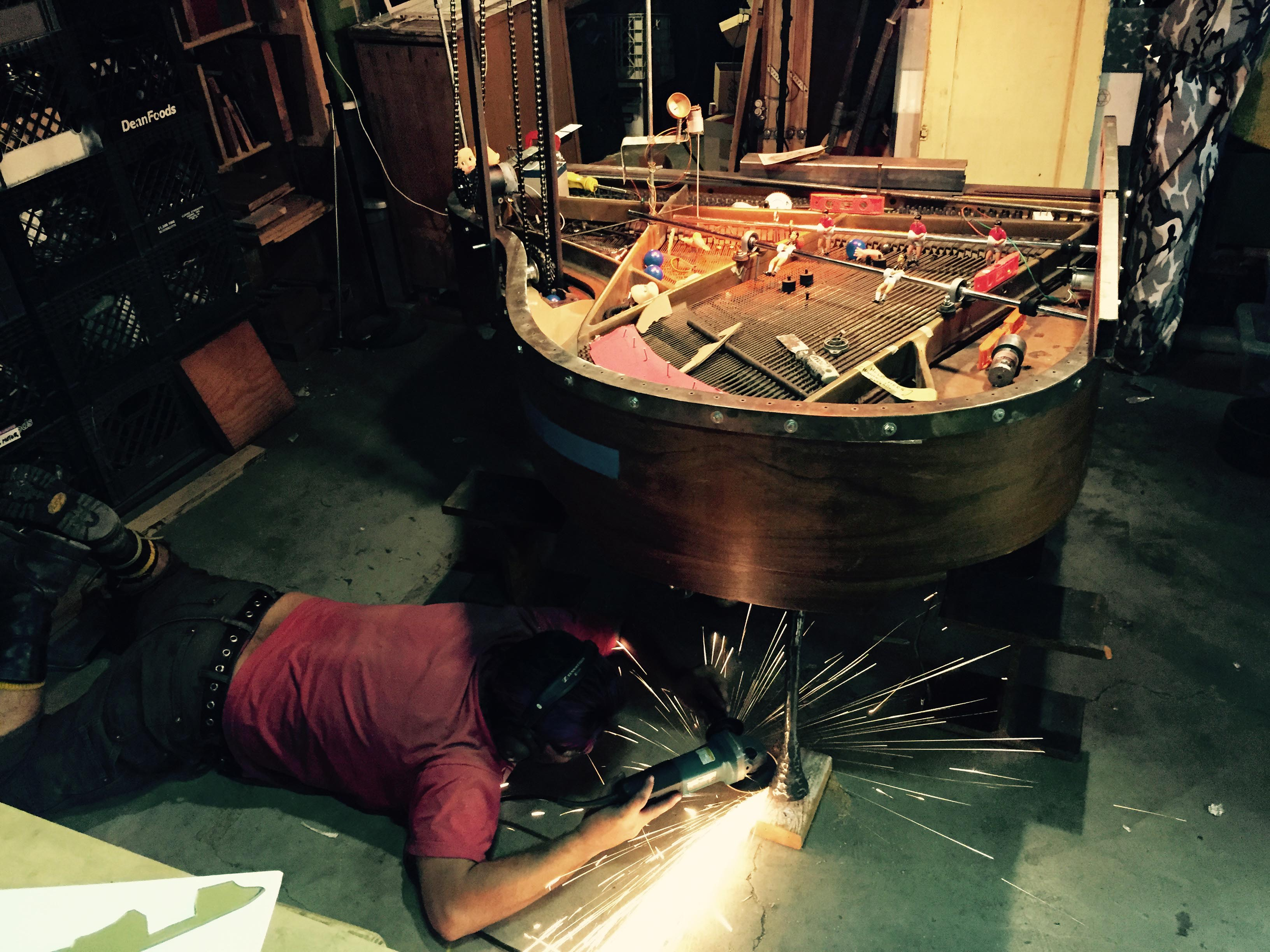 This Baby Grand Piano Can Play Pinball All By Itself