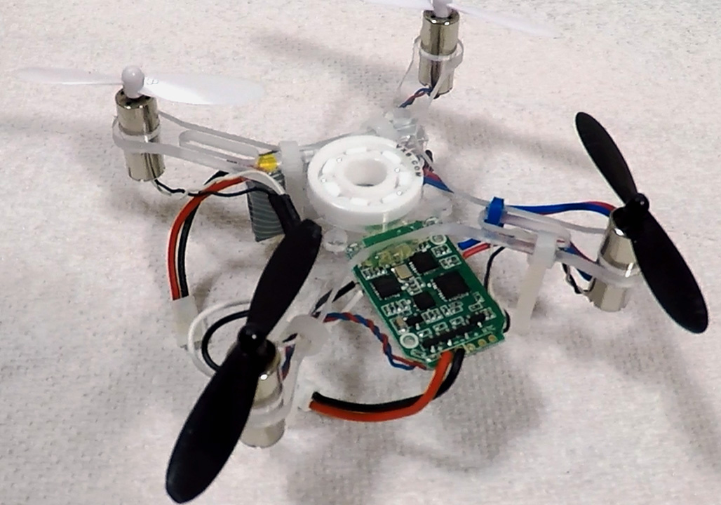It's a Drone That Spins and a Fidget Spinner That Flies — It's a SpinnerDrone!