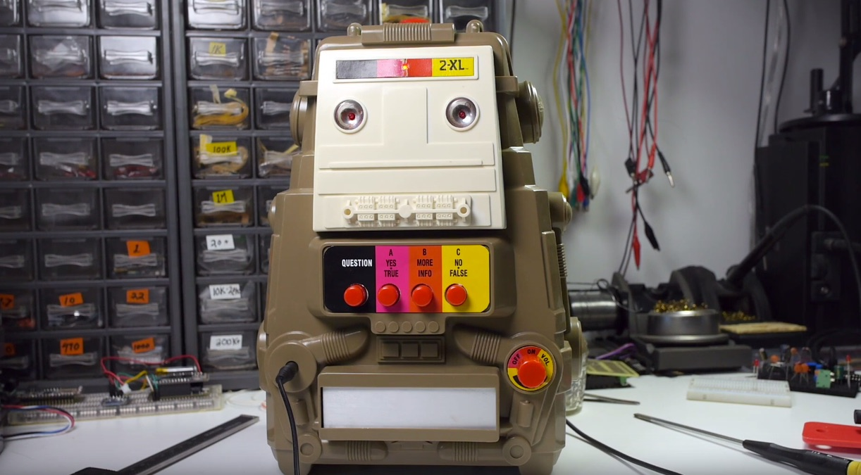 Retro Enclosures for Modern Digital Assistants