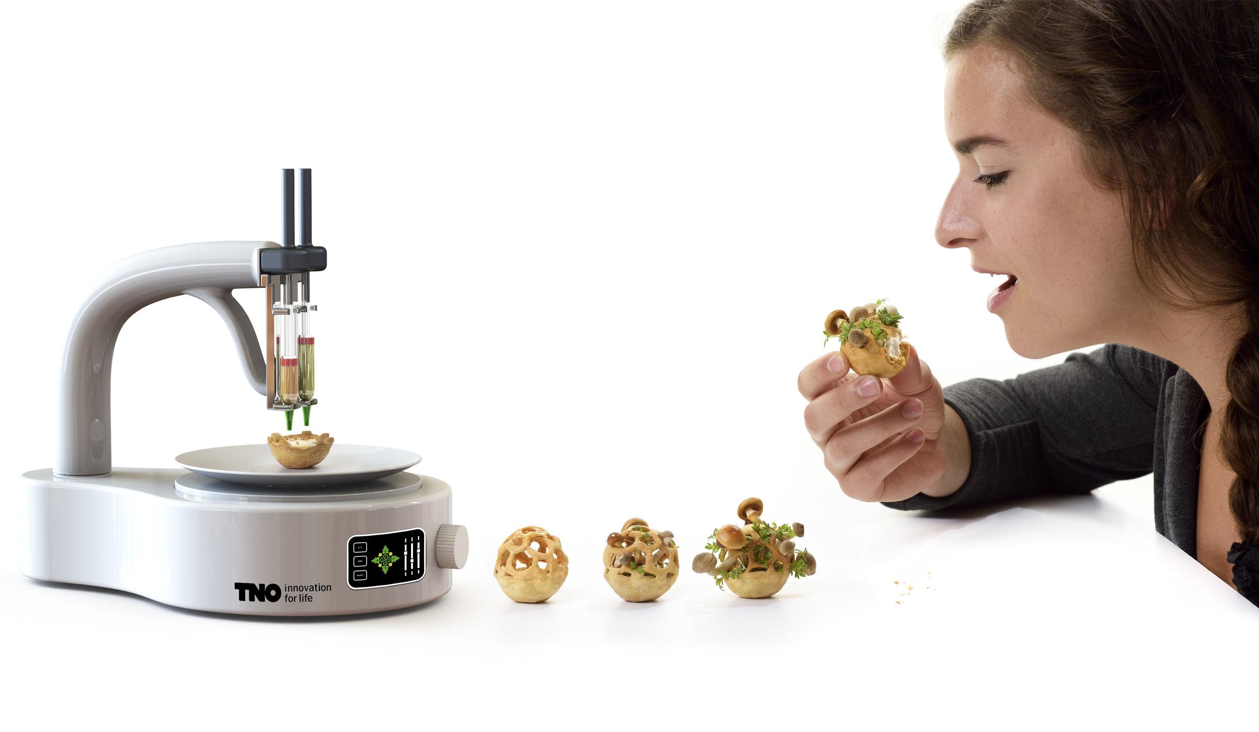 Impressora 3D de comida saudável pode ser o futuro da alimentação humana