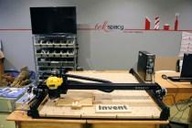 TekSpacy's X-Carve CNC cutter