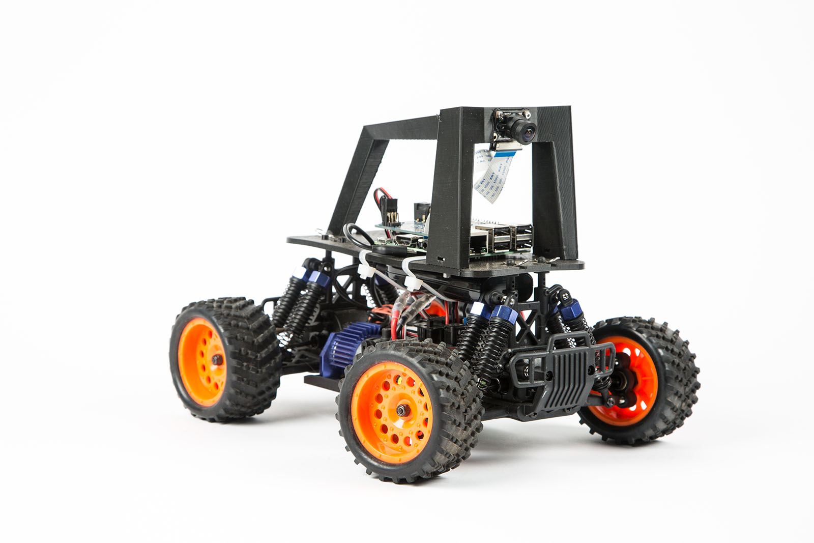 Build An Autonomous R C Car With Raspberry Pi Make Cellphone Controlled Starter Circuit Electronic Projects