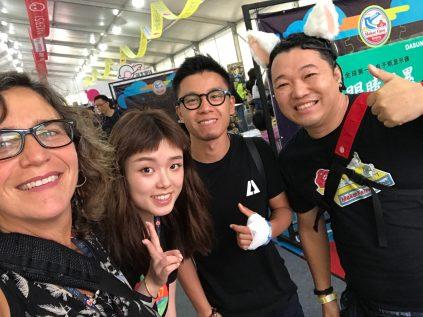 Maker Faire around the world! Global (Sabrina), Beijing (Cissy), Xi'an (Kevin), and Singapore (Takasu)
