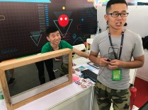 """""""Smart mirror"""" prototype by some engineering students"""