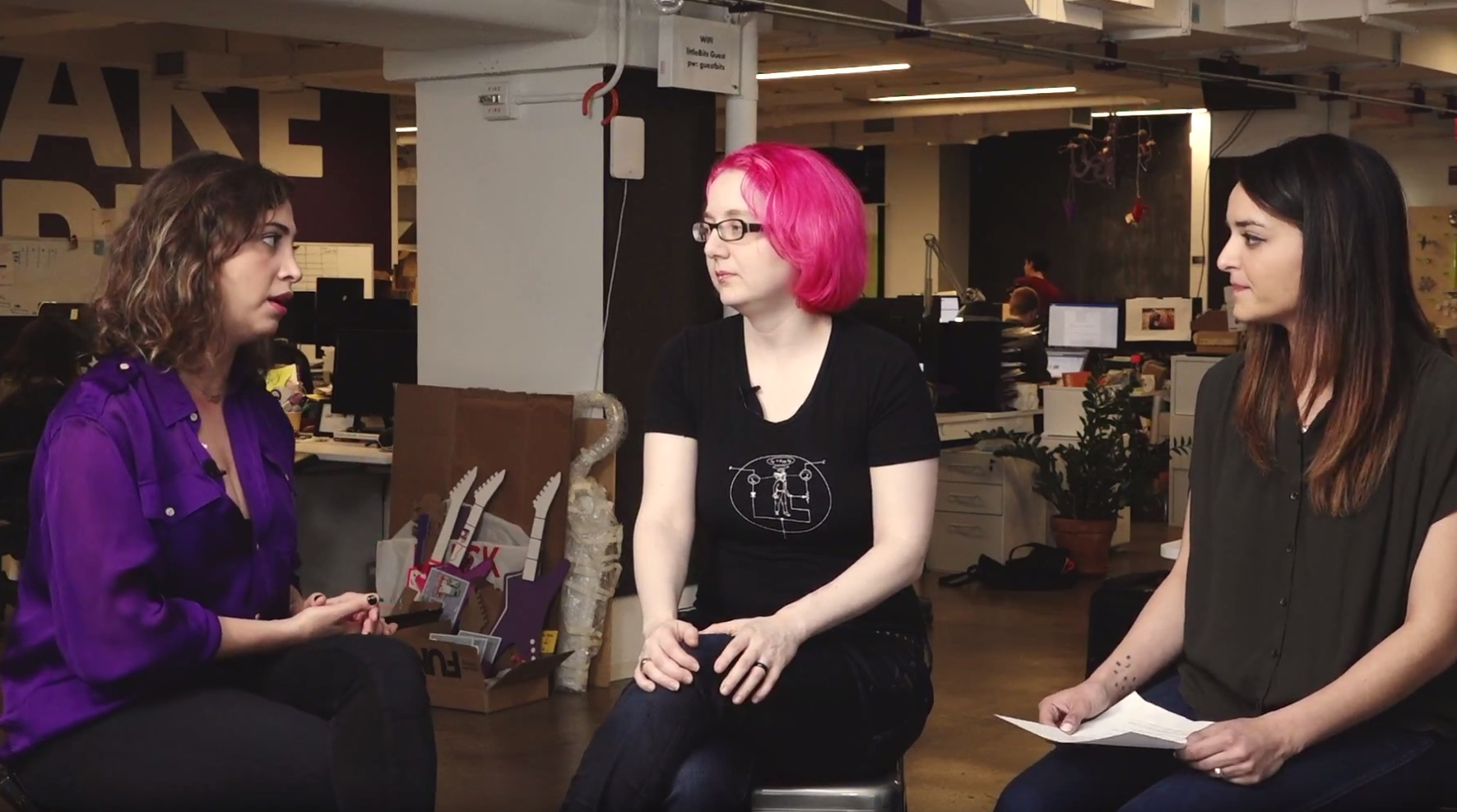 "Adafruit Launches ""Women in  Hardware"" Series"