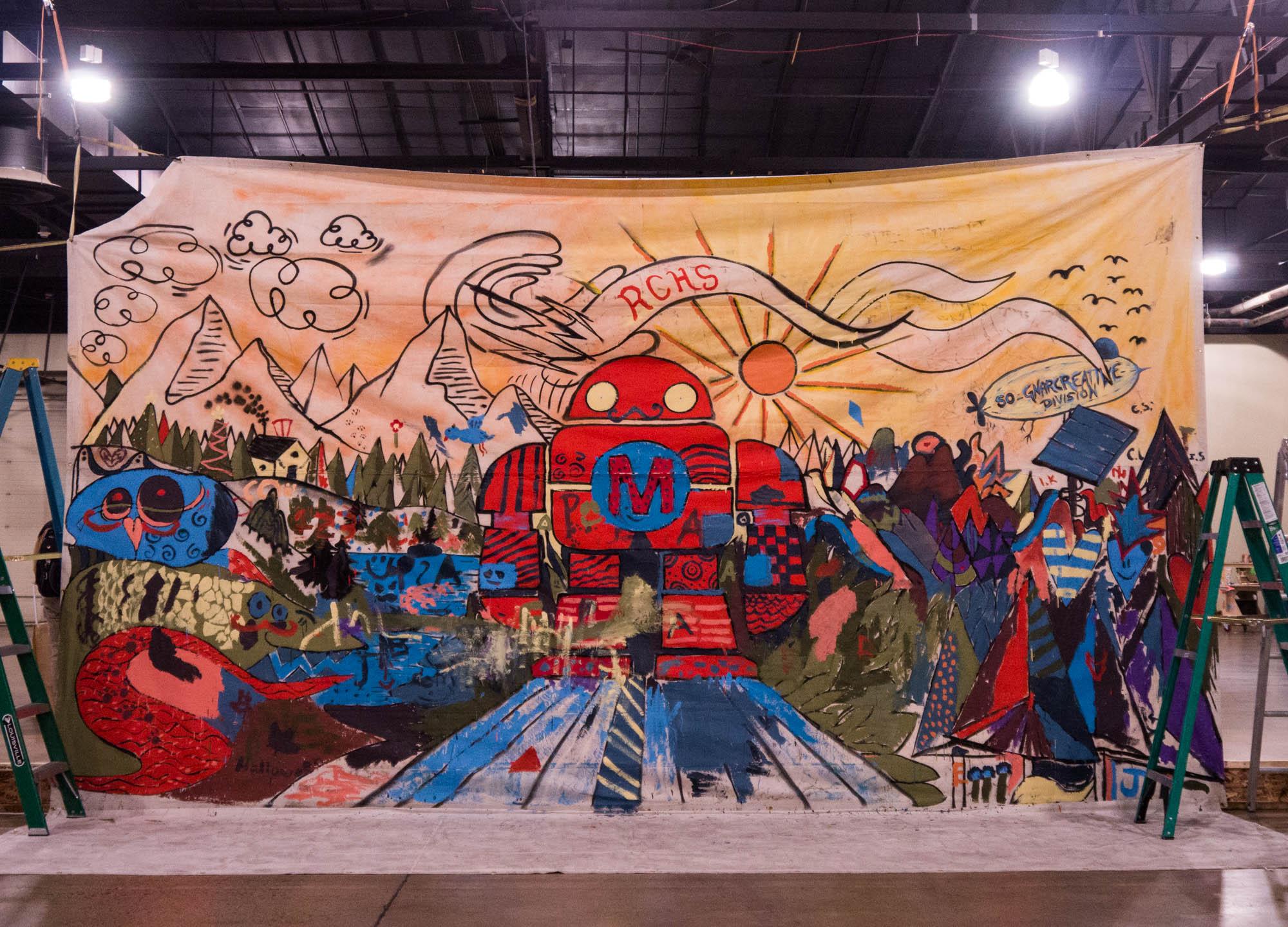 Fighting Bots, Pinball, Emulators, and More at Maker Faire Denver