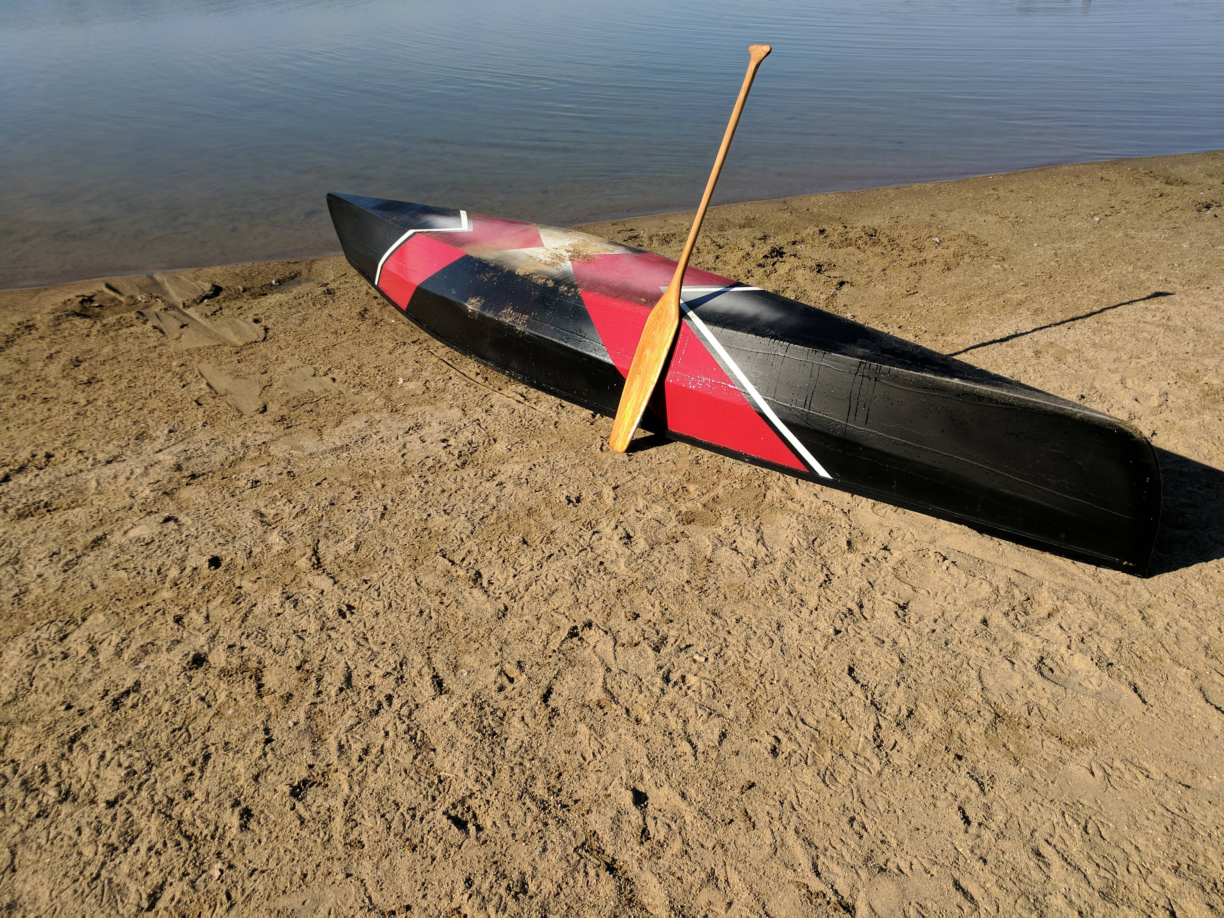 This Guy Built a Canoe from Scratch Inside His Apartment