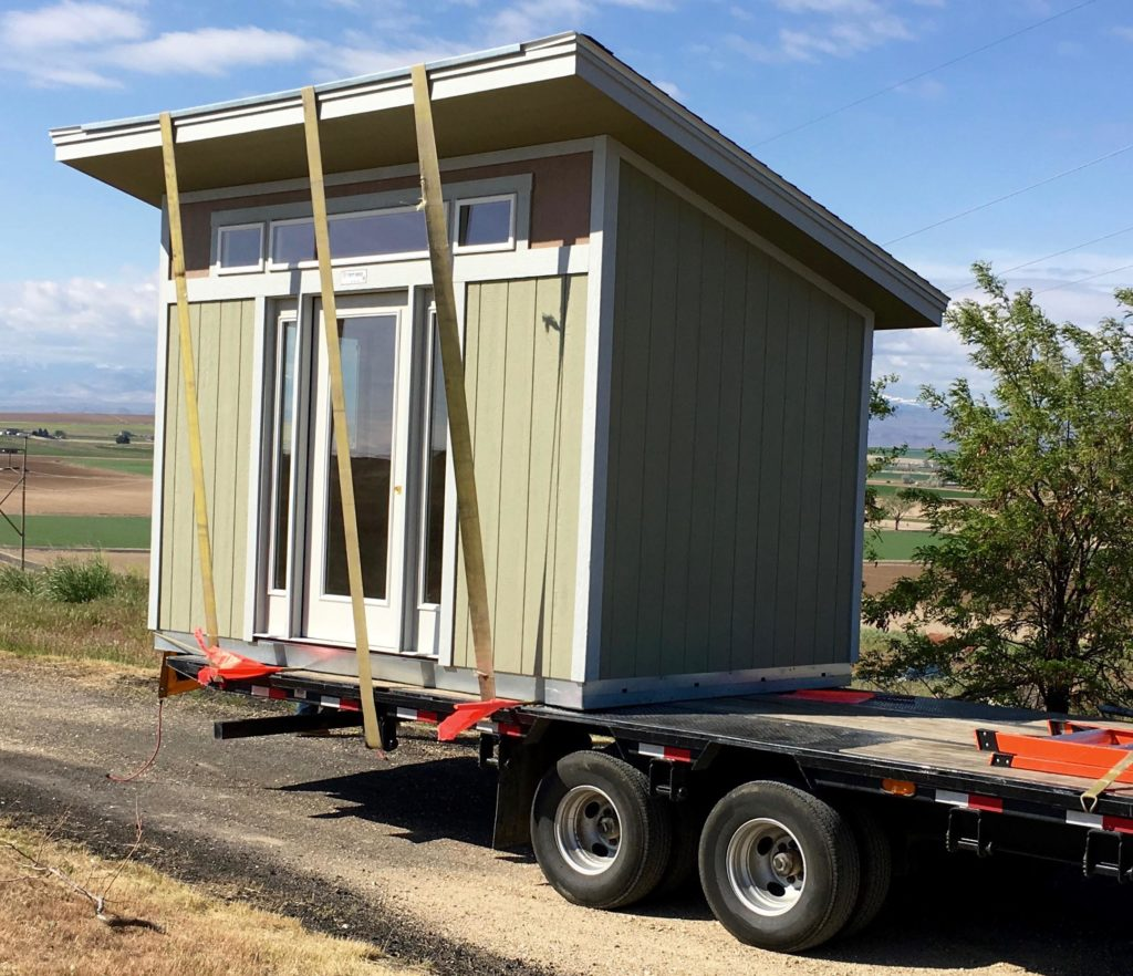 Transform a tuff shed into a solar powered workspace make for Shed project