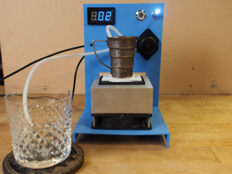 Build a Thermoelectric-Cooled Drinkibot