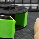 Convert Your Empty Filament Spools to Part Bins With This Clever Mod