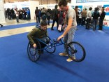Lots of assistive tech projects, this one a racing wheelchair