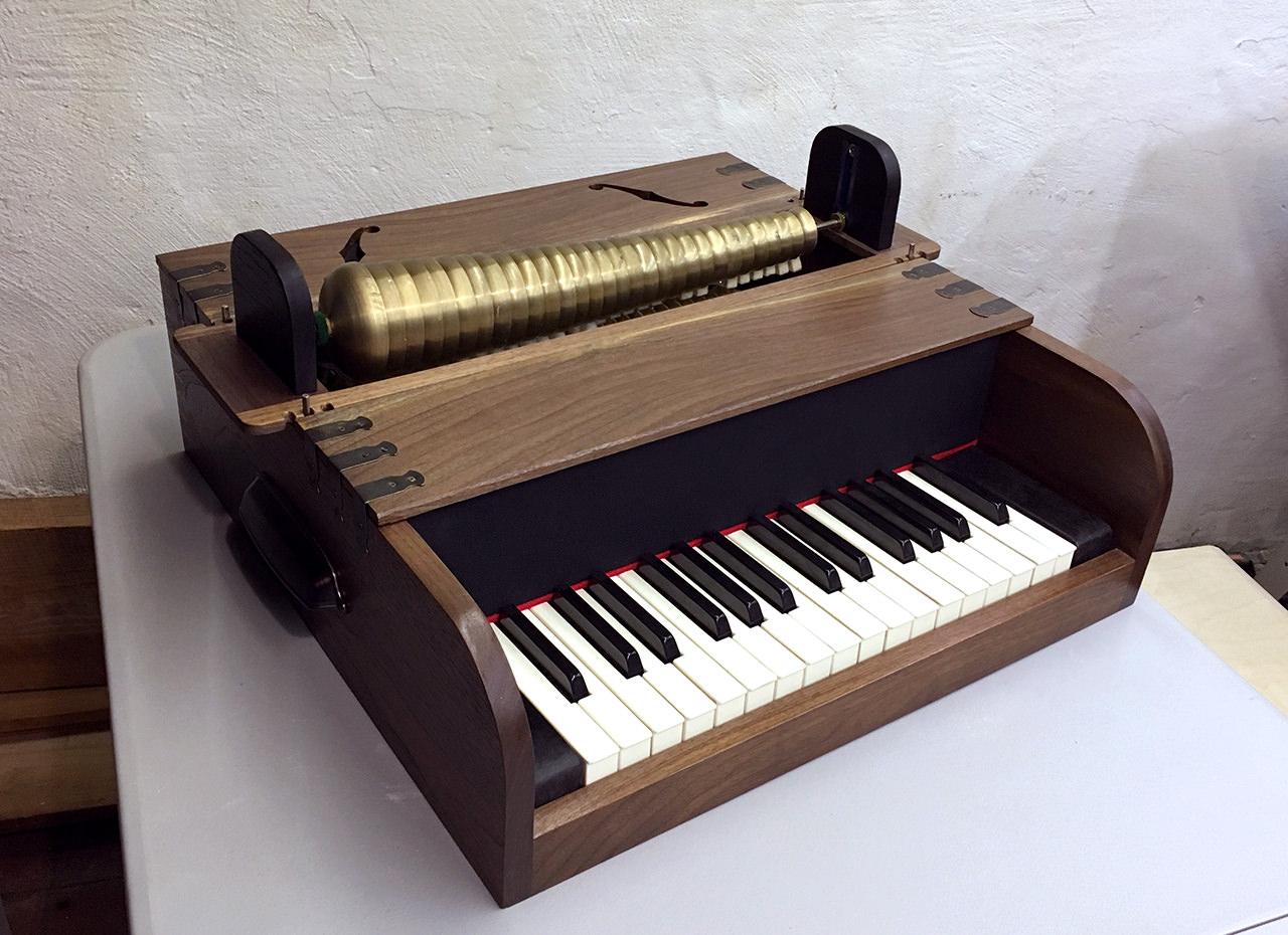 Hacking Apart A Piano To Build A New Instrument