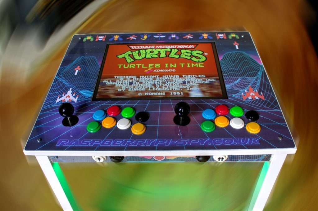 Build a Retro Arcade Game from a Raspberry Pi and an Ikea Table