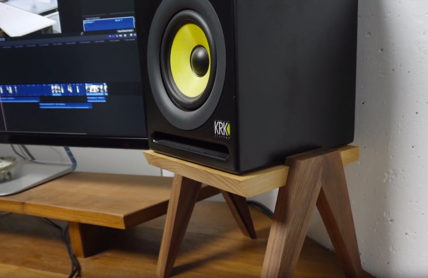 Building Simple Speaker Stands