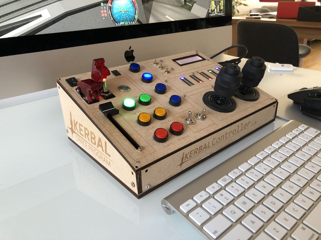 Take Control of Kerbal With This Custom Console