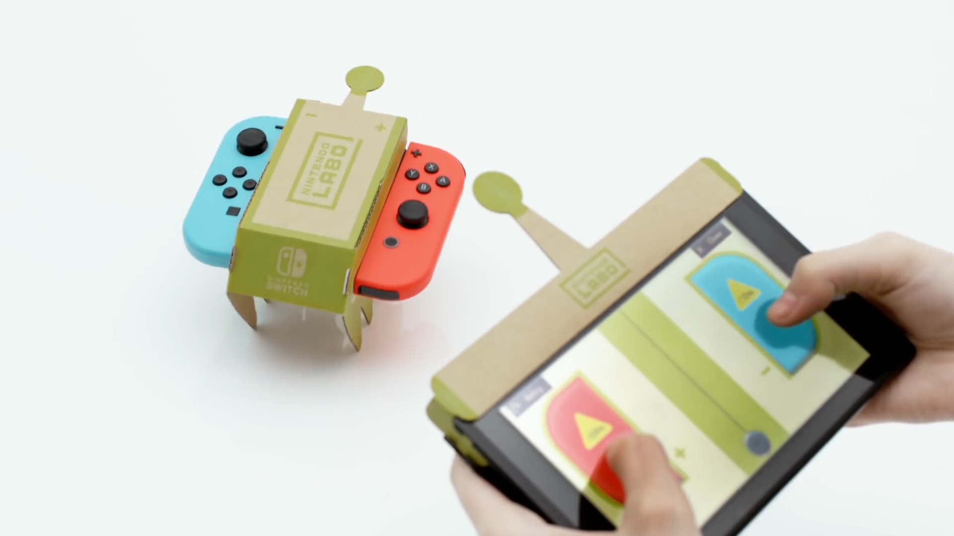 Nintendo announces Labo: A Cardboard Creator Kit for Kids