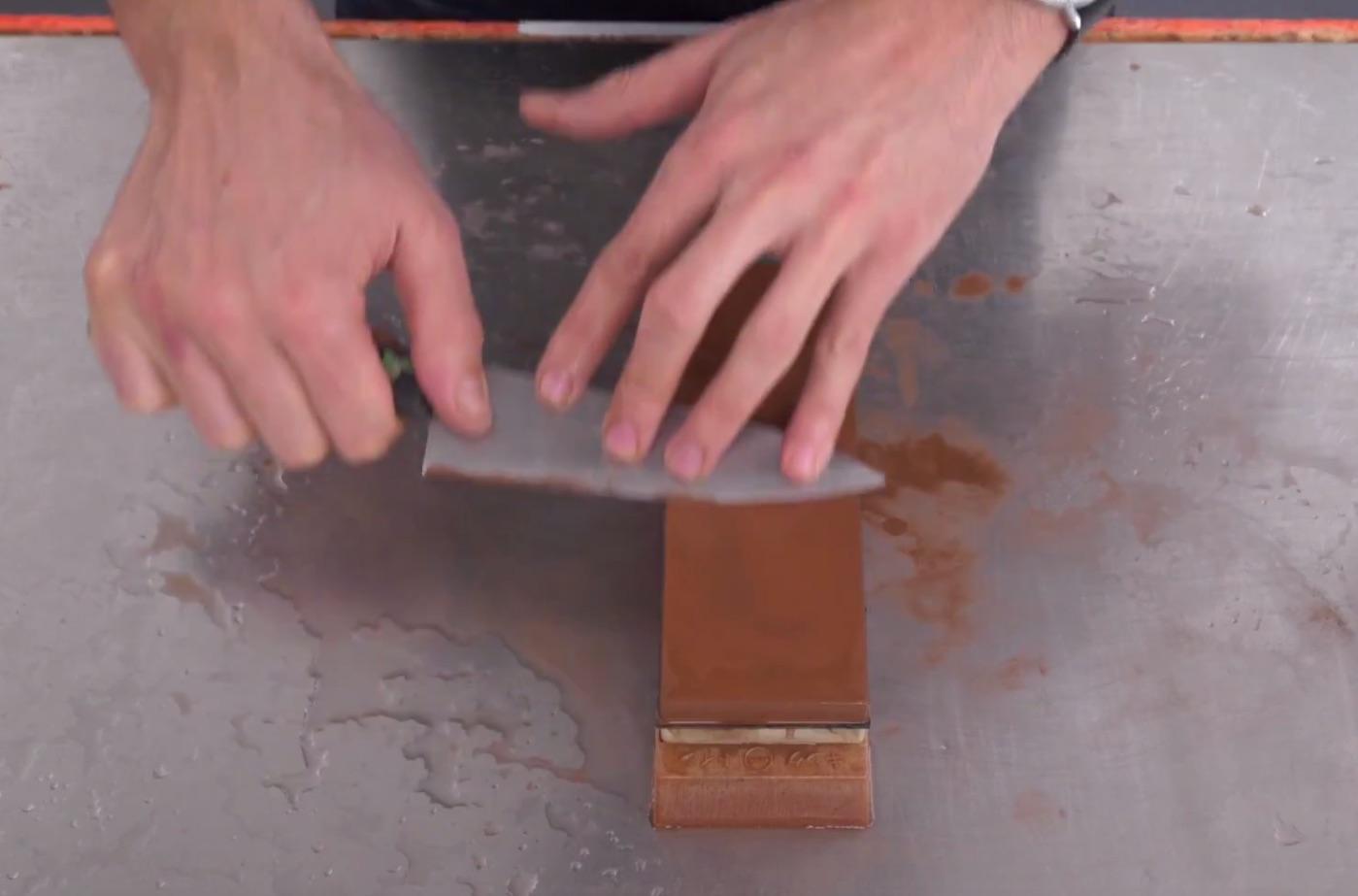 Learning Knife Sharpening