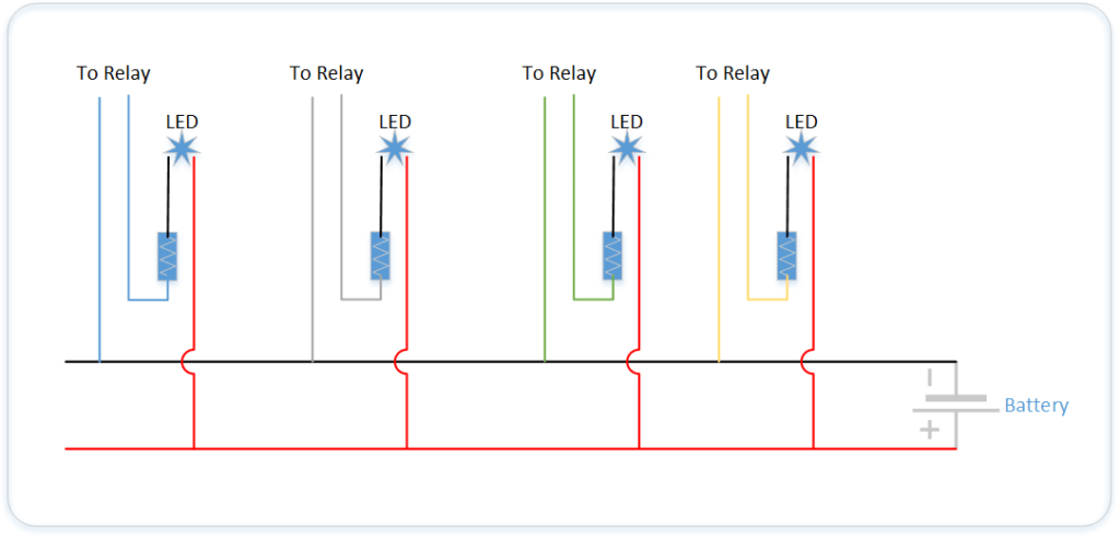 4 Ways to Control Electronic Relays | Make:  Best Images Of Dc Light Wiring Diagram John on