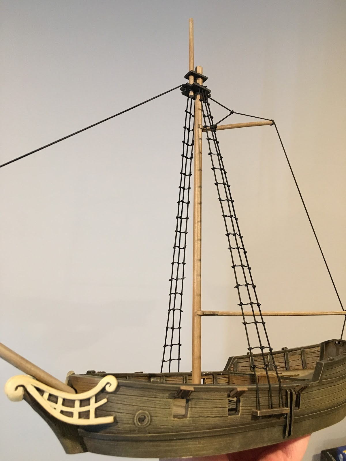 How to Rig a Model Ship
