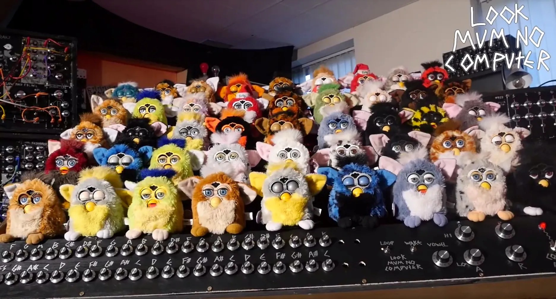 You Don't Know Terror Until You've Experienced the Furby Organ