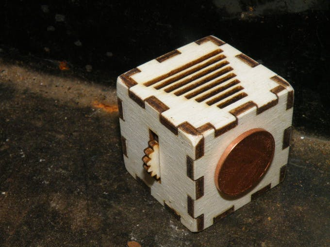 Carve and Construct Your Own Fidget Cube