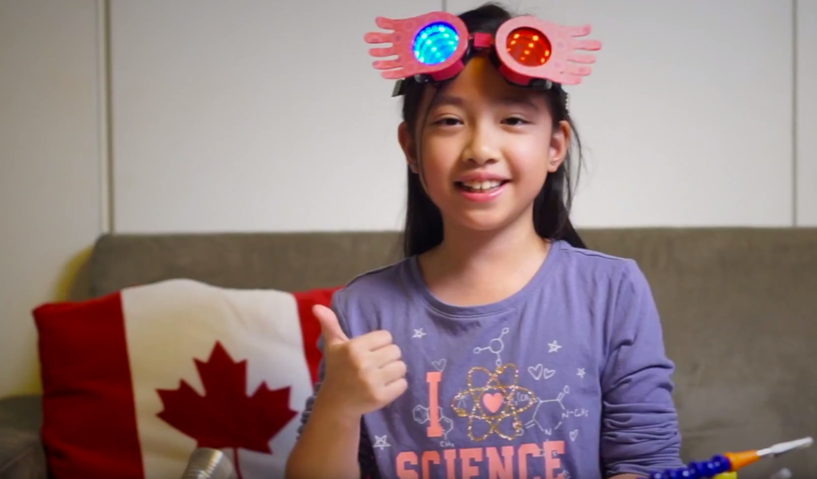 Weekend Watch: Meet 8 Year Old Maker Purple Oranji