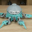This 3D Printed Arduino-Based Hexapod Robot Can Bust a Move!