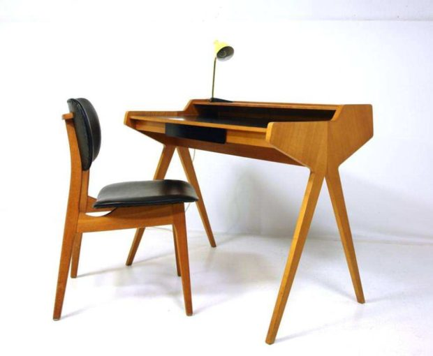 Is my mid century modern desk an homage or a cheap knock for Cheap mid century modern furniture
