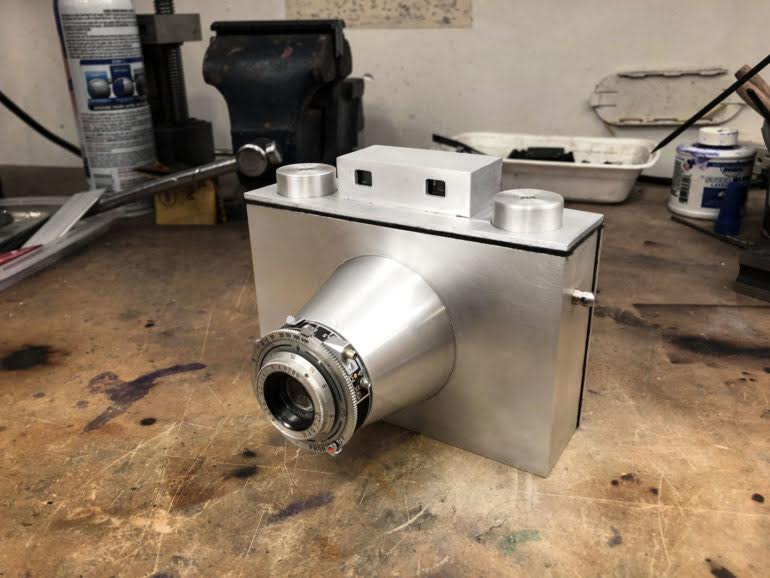 Cast, Mold, and Mill an Aluminum Camera from Scratch