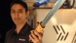 CNC Milling A Bespoke Wooden Lightsaber