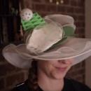 Becky Stern Makes a Tumor-Rejecting Hat for Simone Giertz