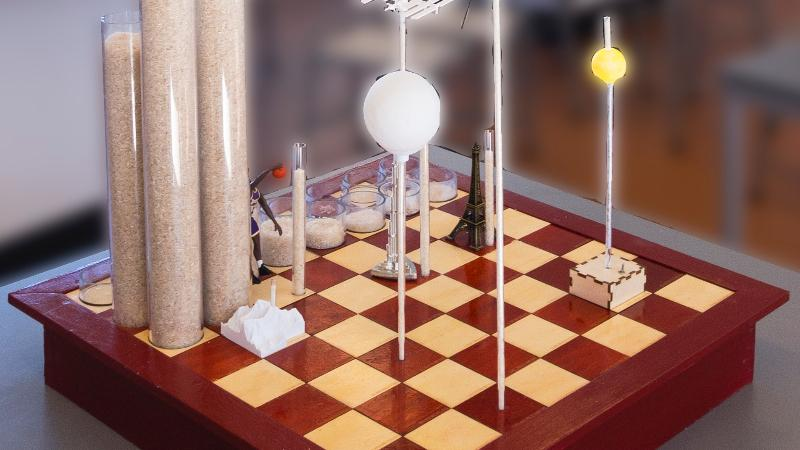 Exponential Growth, Explained Via Rice on A Chessboard