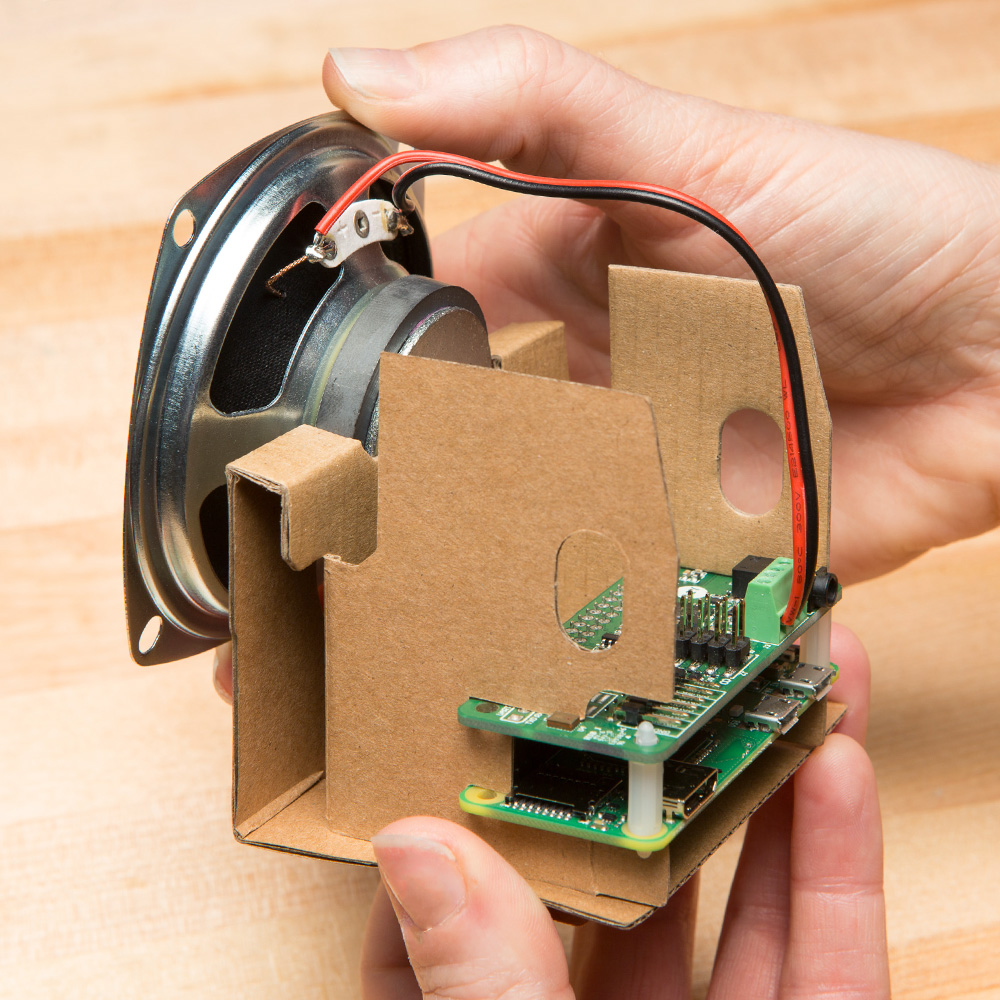 These Three Kits Can Help Connect Your Project To Powerful Ai Make 1000 Ideas About Buffer Amplifier On Pinterest Audio The Hat Primarily Provides A Decent Speaker And Secondary Board With Stereo Microphone