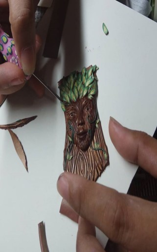 Polymer Clay art by Crafting time