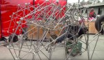 Adam Savage Attempts to Build a Pedal-Powered Strandbeest