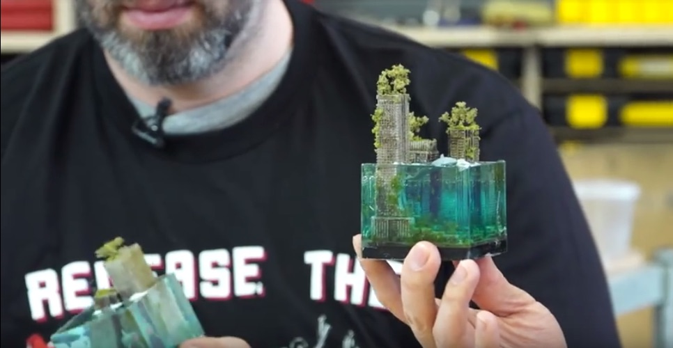 Make Your Own Mini Flooded-World Cityscapes