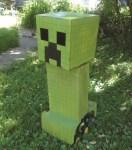 Craft A Minecraft Creeper Robot