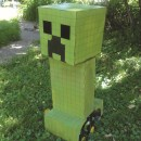 Craft A Minecraft Creeper Robot