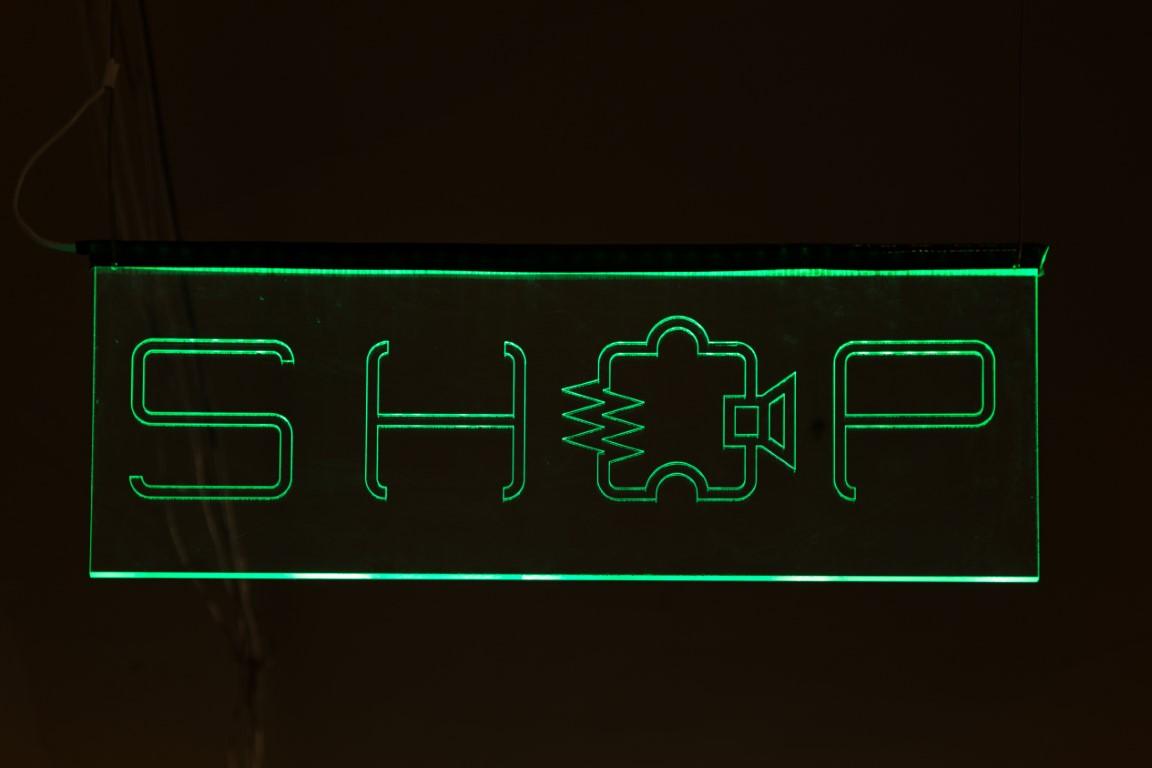 Edge-Lit LED Signs