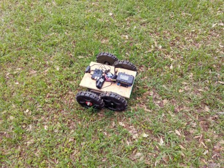 Trc202created a lawn mower robot, and another that plays PlayStation games. You can also sometimes play with his cat.
