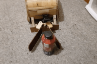 Opkilliemade this robot out of freaking wood!