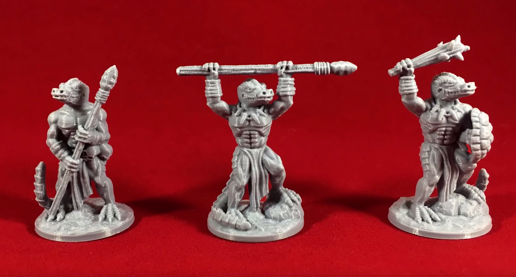 How to Print Miniature Figures on a 3D Printer