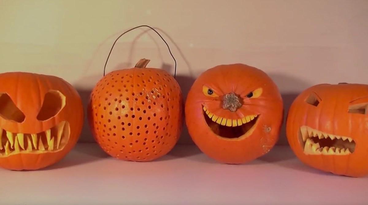 Easy, Effective Pumpkin Carving Tricks